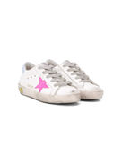 Golden Goose Kids Superstar lace-up trainers