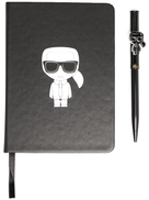 Karl Lagerfeld K Ikonik notebook and pen set