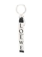 LOEWE metallic logo keyring