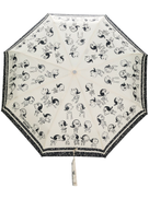 Boutique Moschino cartoon print umbrella
