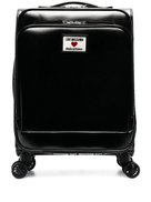 Love Moschino logo-patch trolley