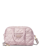 Marc Jacobs large quilted weekender bag