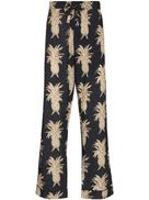 Desmond & Dempsey pineapple cotton pajama trousers