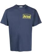 Aries logo print T-shirt