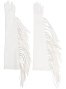 Manokhi long fringed gloves
