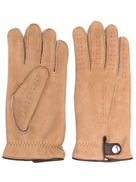 Brunello Cucinelli perforated sheepskin gloves