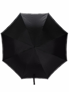 Alexander McQueen logo trim umbrella