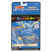 Melissa & Doug Melissa Doug Vehicles Color Reveal Pad