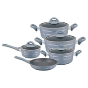 Royalford 9pcs Smart Forged Aluminium Cookware Set