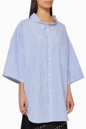 Balenciaga Cocoon Swing Cotton Shirt