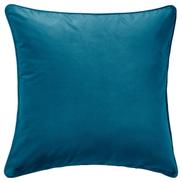 SANELA Cushion cover, dark turquoise, 65x65 cm