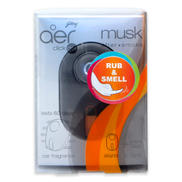Aer Twist Gel Car Fragrance Musk 10g