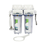 Crystal Drops Water Filter Dual With Cartridge TC2D
