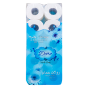 Doha Toilet Tissue Roll Soft & Long 2ply 10 x 400 Sheets