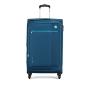 VIP Switch Expandable Spinner Soft Trolley 54cm Blue
