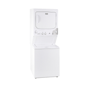 White Westing House White Westinghouse Laundry Center Washer & Dryer WLC105WM 10 5Kg