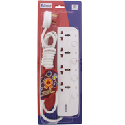 Sirocco Extension Socket 4Way 2M