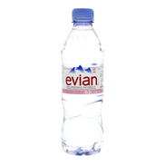 Evian Natural Mineral Water 500ml x 6 Pieces