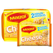 Maggi 2 Minute Noodles Cheese Flavour 77g x 5 Pieces