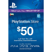 PSN PlayStation Network Card 50 USD