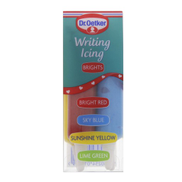 Dr.Oetker Writing Icing Bright Color Assorted 76g