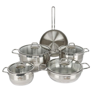 Sofram Stainless Steel Cookware Set 9pcs