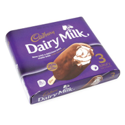 Cadburys Cadbury Dairy Milk Luxury Chocolate Ice Cream Bar 100ml x 3pcs