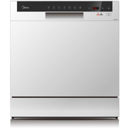 Midea Dishwasher WQP8-3802F-W 8Programs