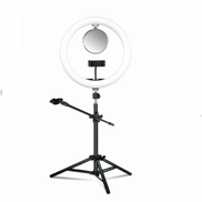 ZGA Mirror Selfie Ring Light with Tripod Stand 12