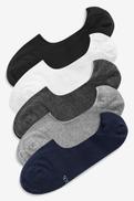 Multi Invisible Socks Five Pack