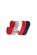 Cherry Invisible Socks Five Pack
